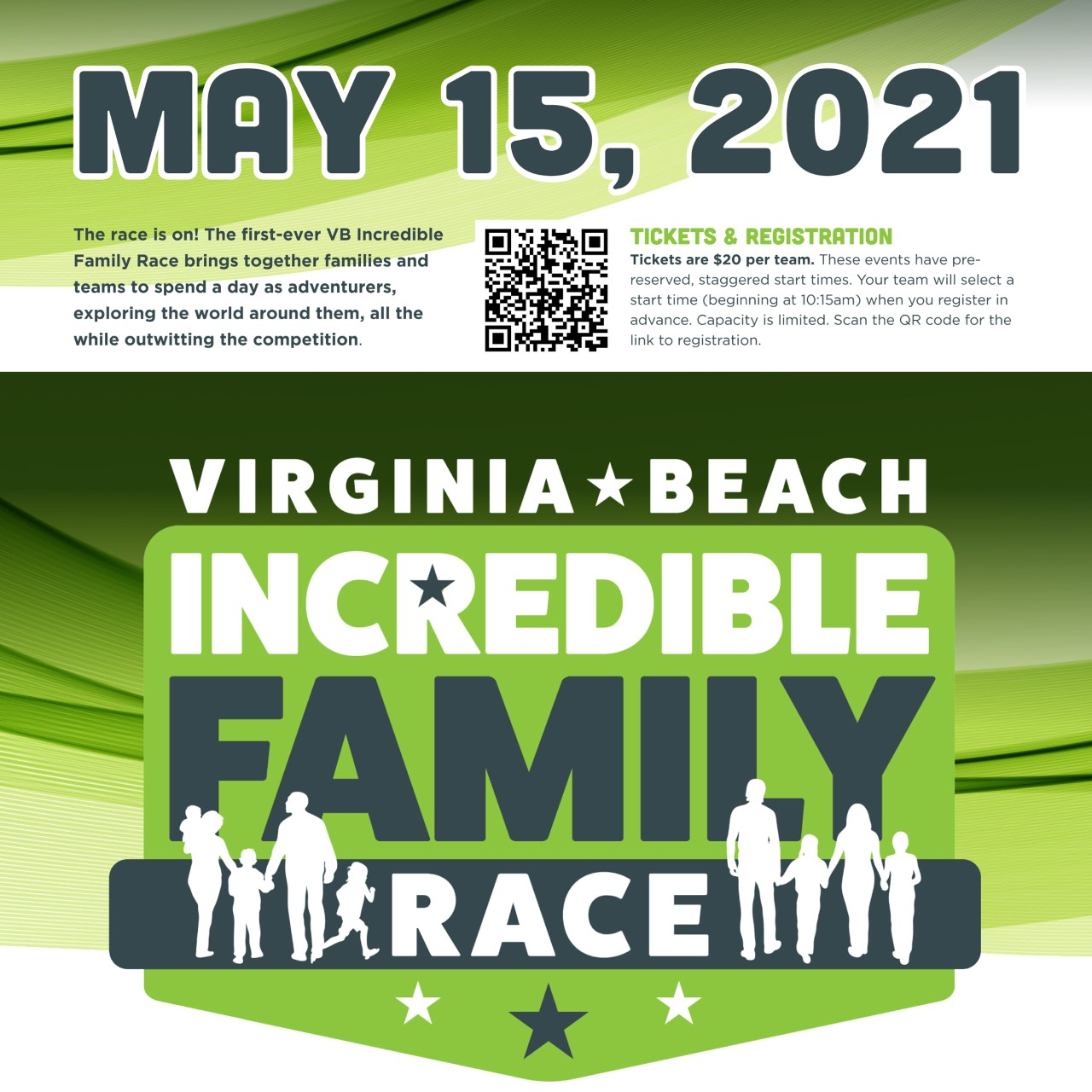 VB Incredible Family Race