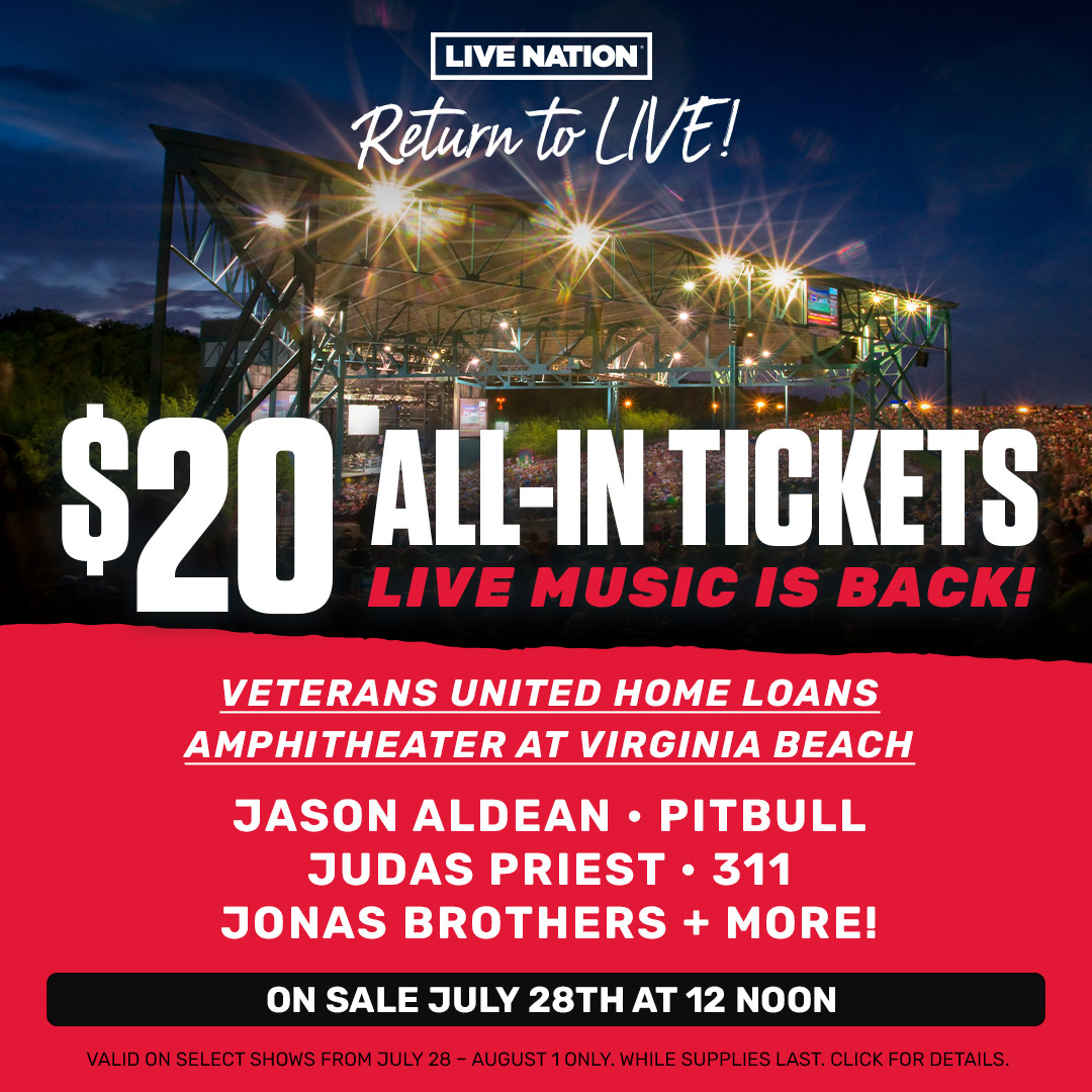 Pay Just $20 to See Jason Aldean, Florida Georgia Line, Dierks Bentley, and More as Live Nation 'Returns to Live'