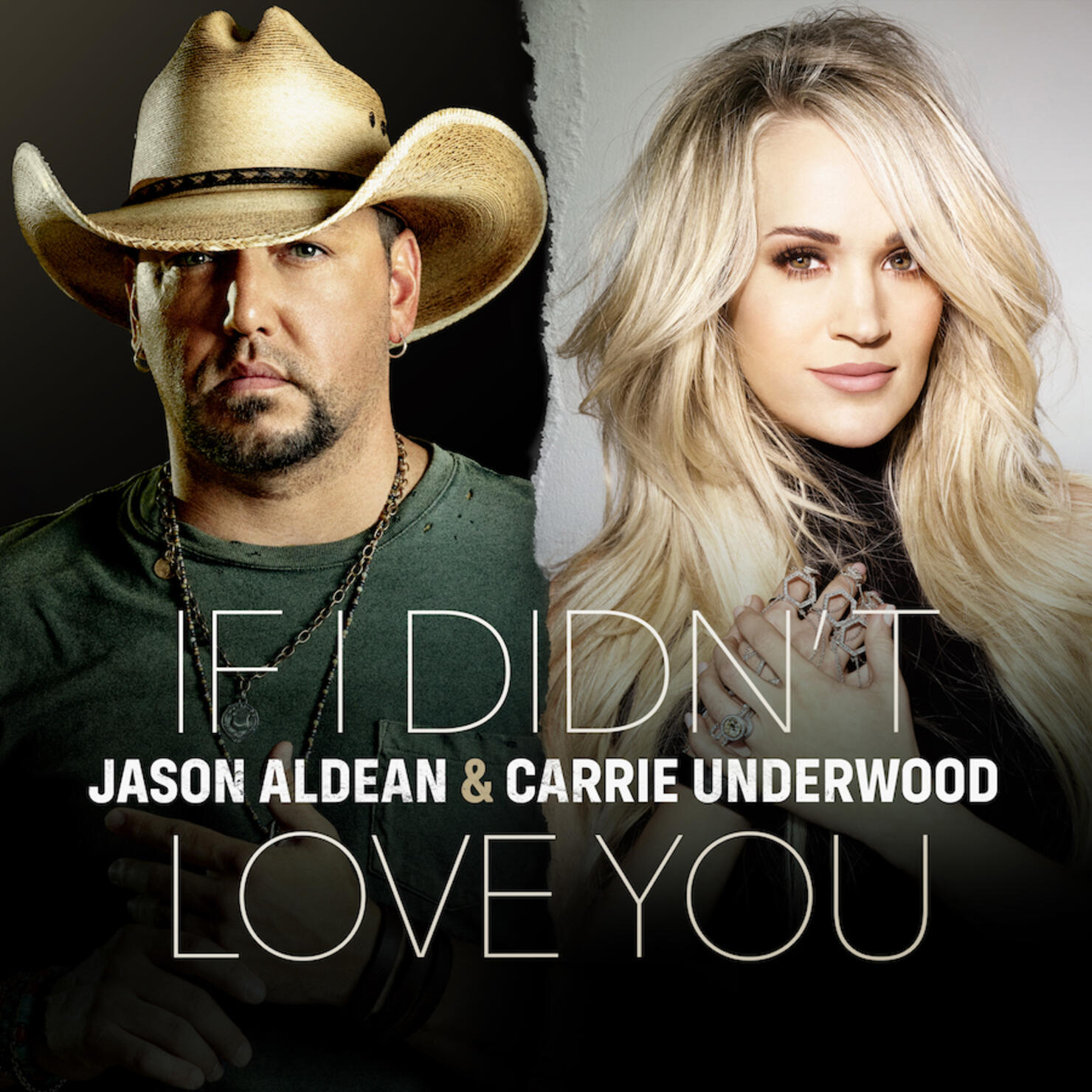 """LISTEN: Jason Aldean and Carrie Underwood Team Up on """"If I Didn't Love You"""""""