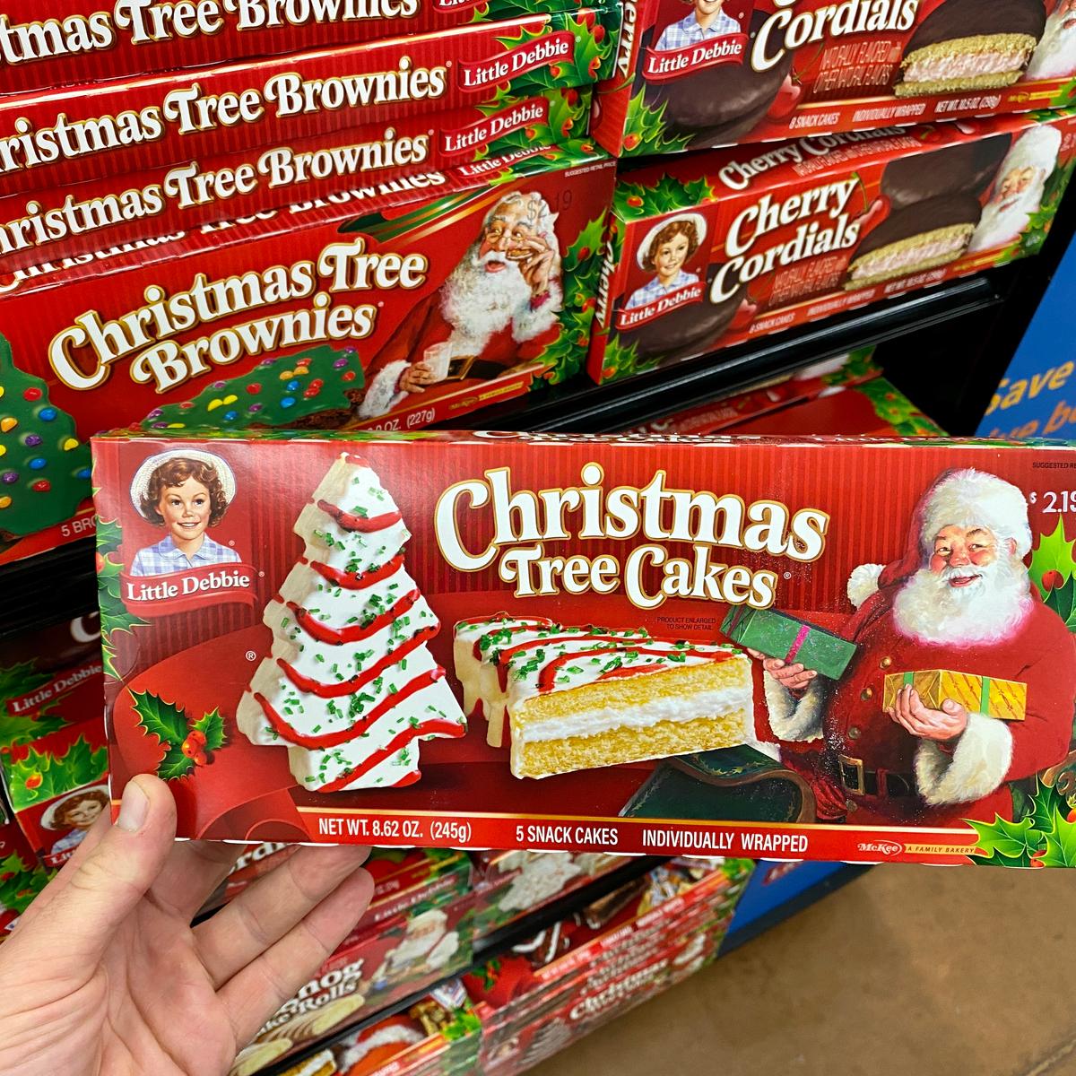 Little Debbie Christmas Tree Ice Cream is Here!