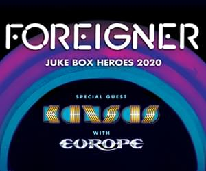 Foreigner with Kansas and Europe