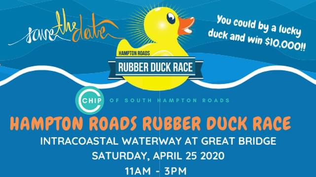 The Hampton Roads Duck Race