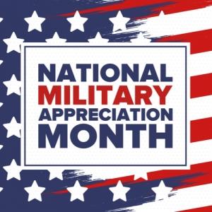 2020 Military Appreciation Month Discounts