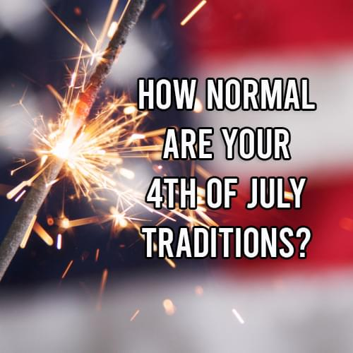 Do you enjoy these common 4th of July traditions?