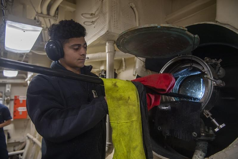 Newport News Sailor serves aboard U.S. Navy warship