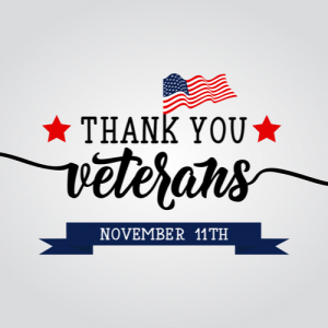 2020 Veterans Day Free Meals and Discounts