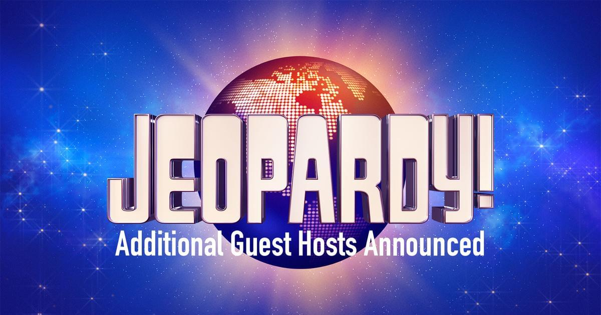 Savannah Guthrie, Anderson Cooper, Dr. Sanjay Gupta and Dr. Oz to Guest Host JEOPARDY!