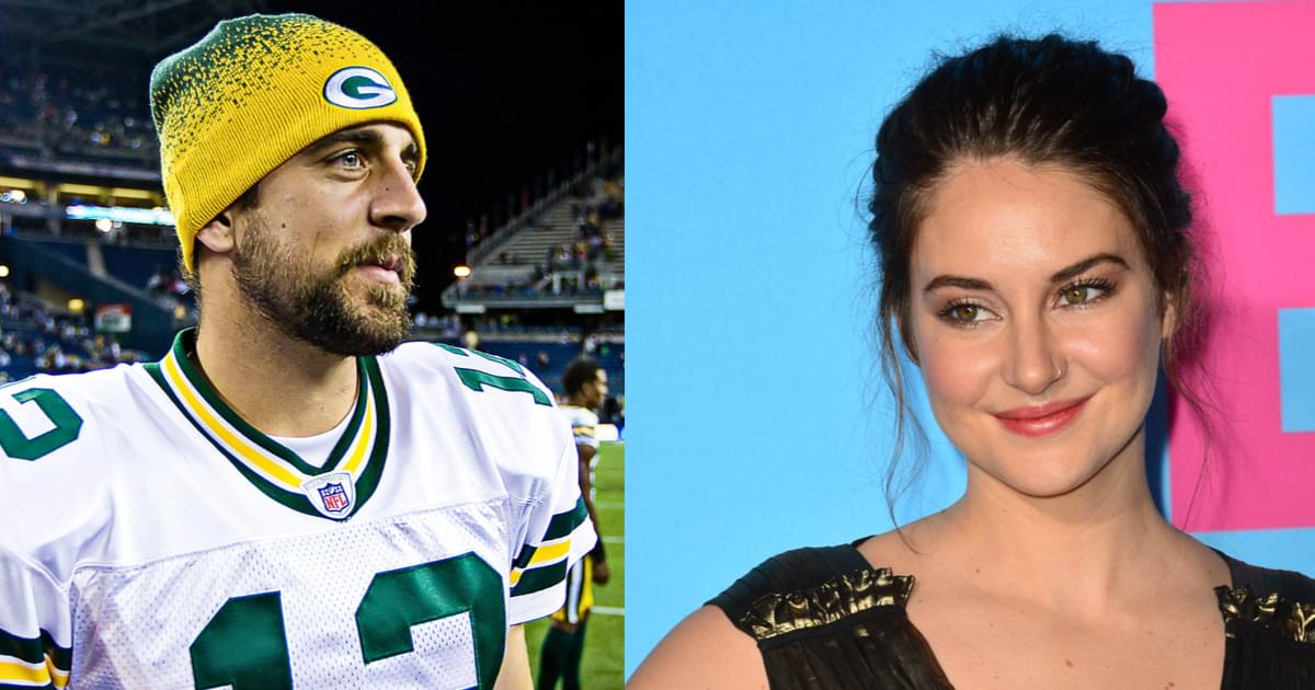 Shailene Woodley Confirms Engagement to Aaron Rodgers {WATCH}