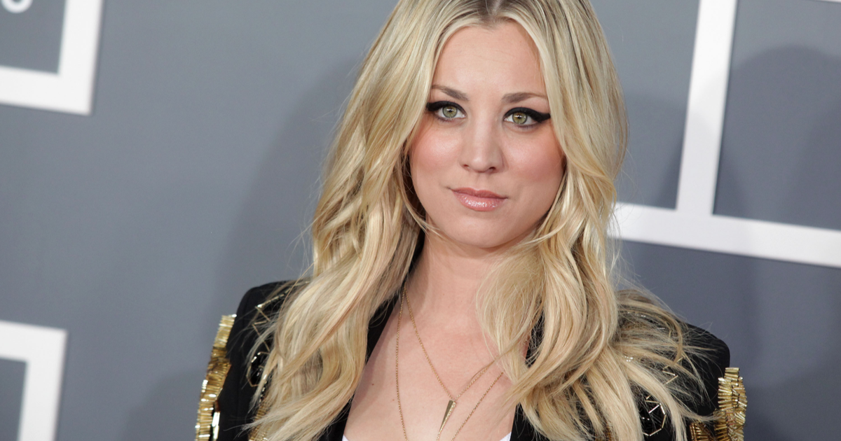 Kaley Cuoco Had The Best Reaction To Her Golden Globes Loss {PICS}