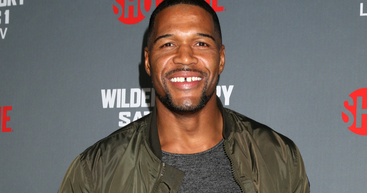 Michael Strahan Announces He's Closed His Iconic Tooth Gap {VIDEO}