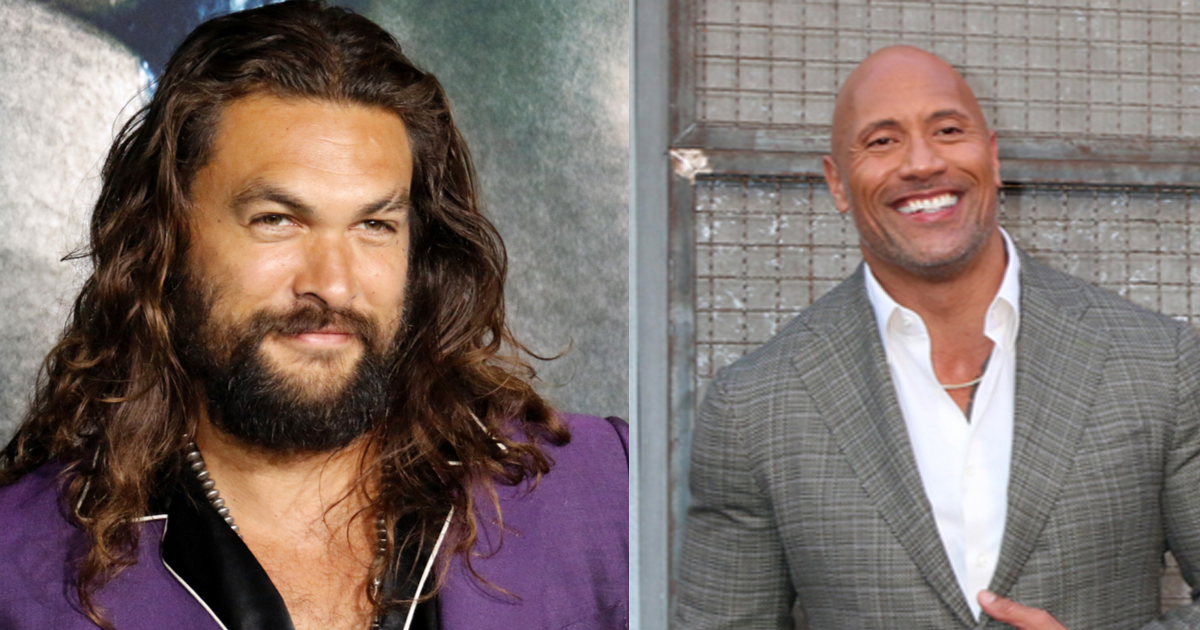 Jason Momoa Surprised The Rock's Aquaman-Obsessed Daughter for Her 3rd Birthday