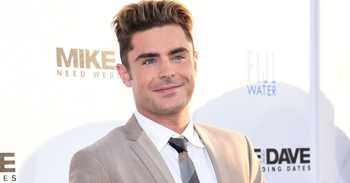 The Most Wholesome Thing You'll See Today: Zac Efron Busts His Grandpa Out of a Retirement Home