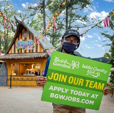 Busch Gardens Job Fair