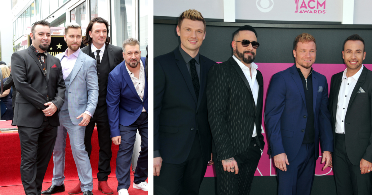 Backstreet Boys And NSYNC Members Who Couldn't Stand Each Other Are Now Best Friends