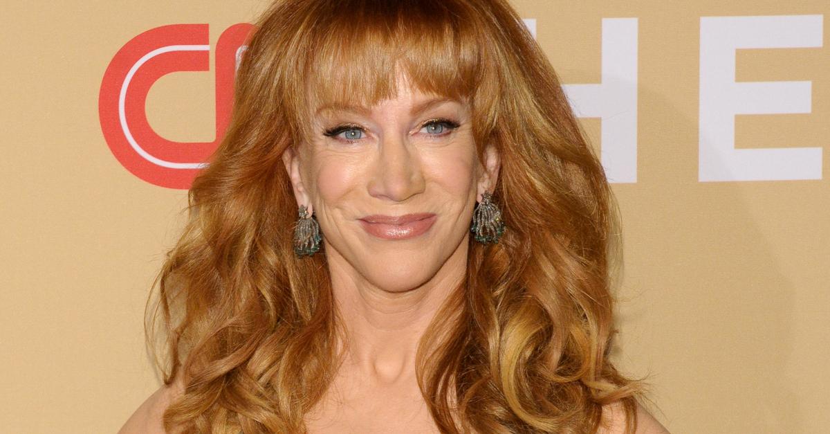 Kathy Griffin Reveals Lung Cancer Diagnosis Despite 'Never' Smoking