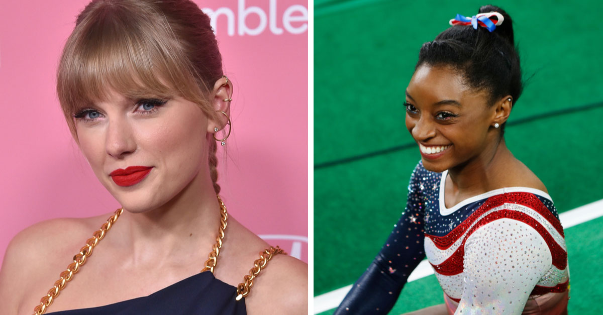 """LISTEN: Taylor Swift Voices New Olympic Video About Simone Biles: """"We All Learned From You"""""""