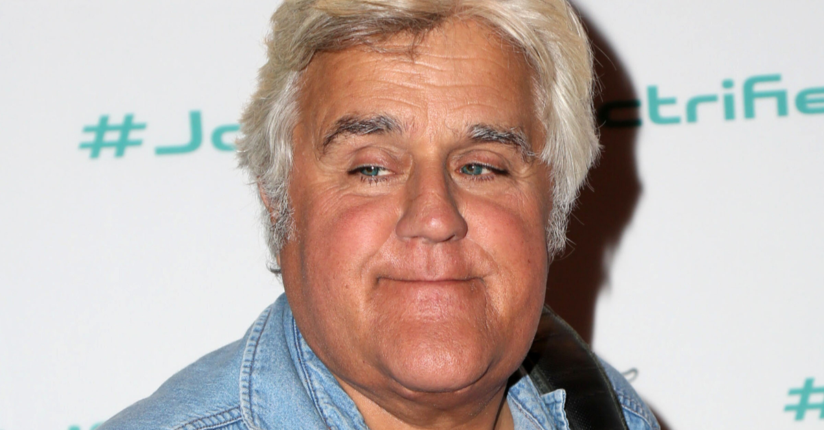 Watch Jay Leno Hang Out of a Moving Plane in Epic Mid-Air Stunt