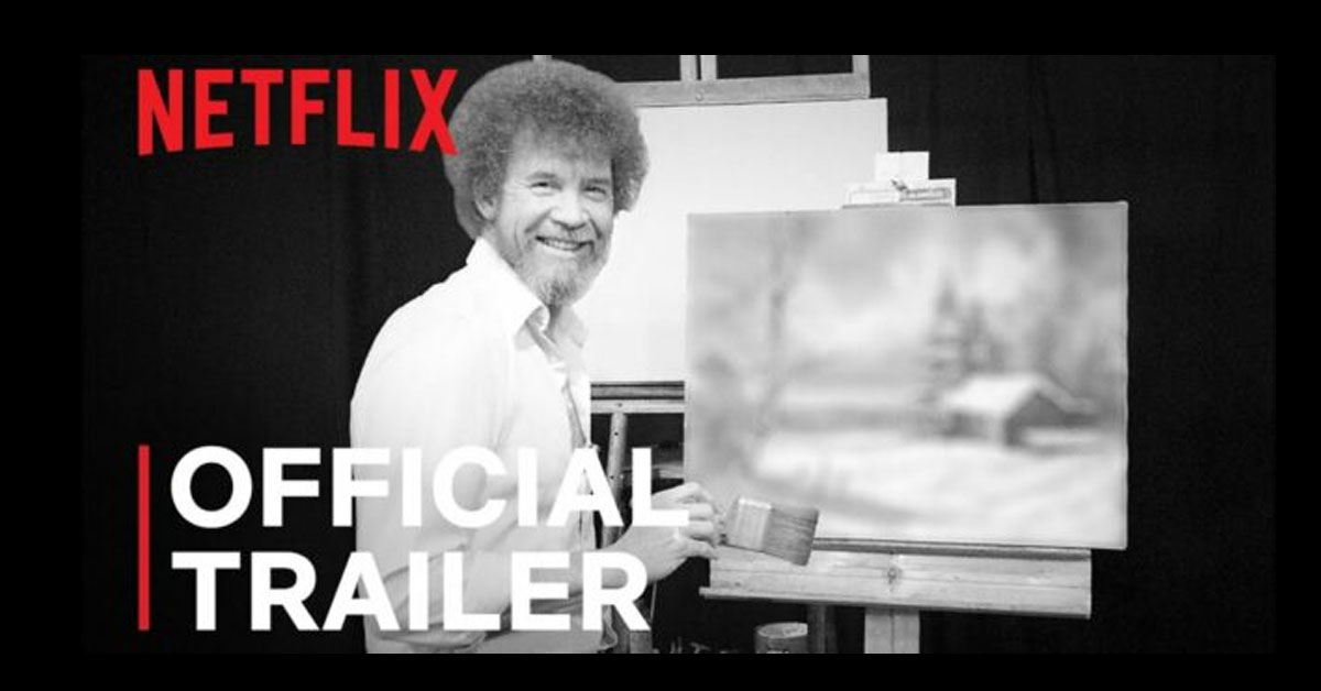 What Secrets Will Netflix Reveal About Bob Ross? Watch the Mysterious Trailer  Now