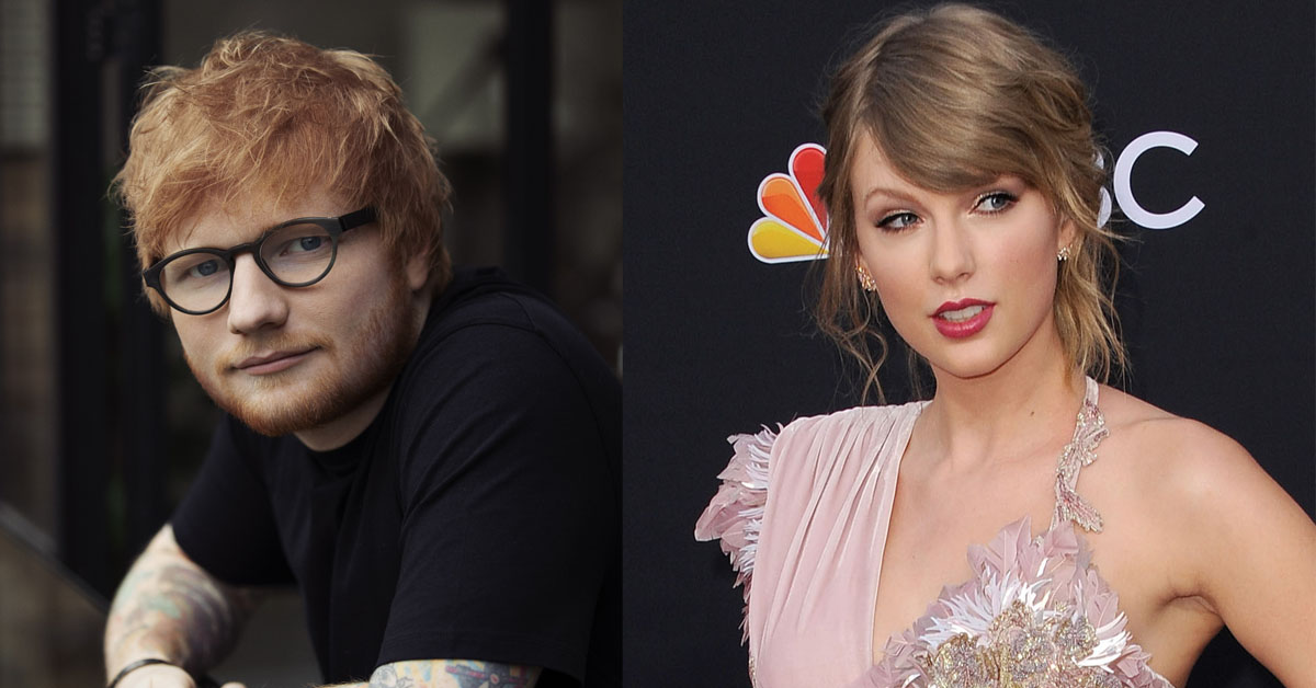 A Song Taylor Swift and Ed Sheeran Wrote The First Day They Met Will Be on 'Red (Taylor's Version)'