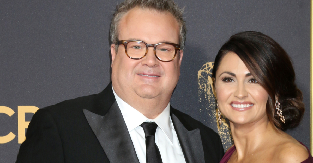 """Eric Stonestreet Hilariously Responds to Comments That He's """"Too Old"""" to Be Engaged to Fiancée Lindsay Schweitzer"""