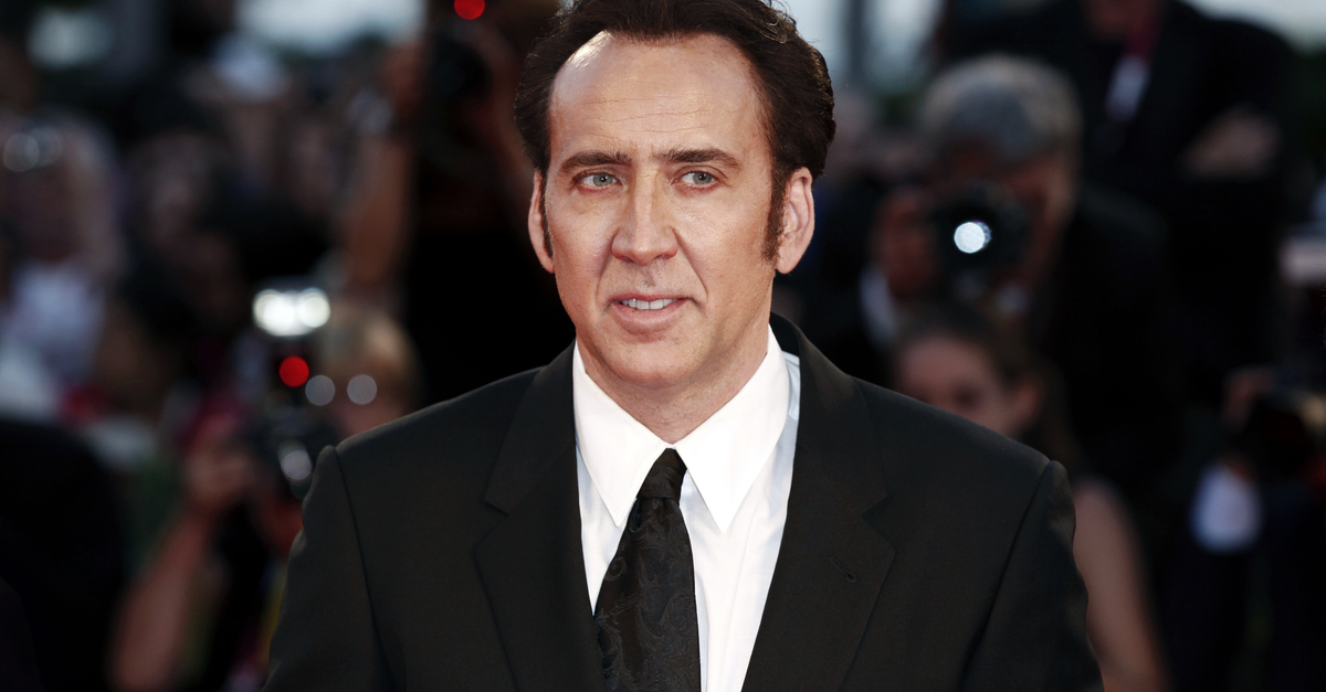 Nicolas Cage Caught On Film Getting Kicked Out Of Las Vegas Restaurant