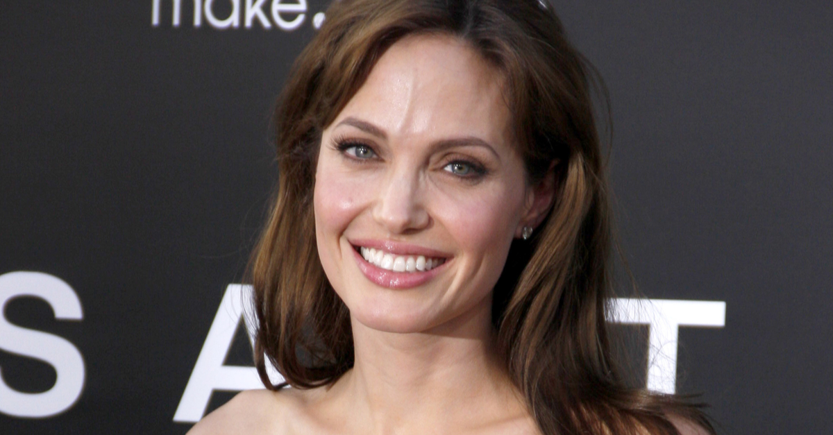 Angelina Jolie's Daughters Wear Her Old Gowns on the Red Carpet {PICS}