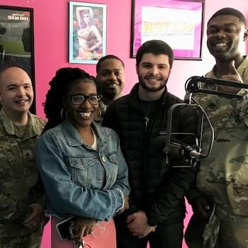 The US Army In The Studio with Hot 100