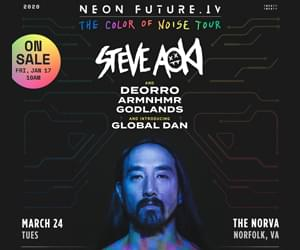 Steve Aoki at The NorVa