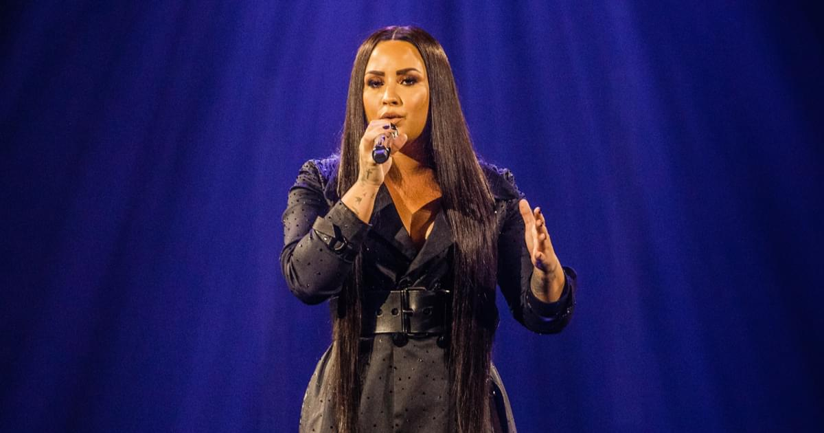 Demi Lovato Debuts Emotional New Song 'Anyone' at Grammys [VIDEO]