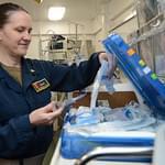 Chesapeake Native Serves as Navy Nurse Aboard Aircraft Carrier