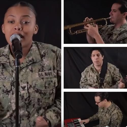 Virginia Beach Sailor Performs with U.S. Naval Forces Europe Band