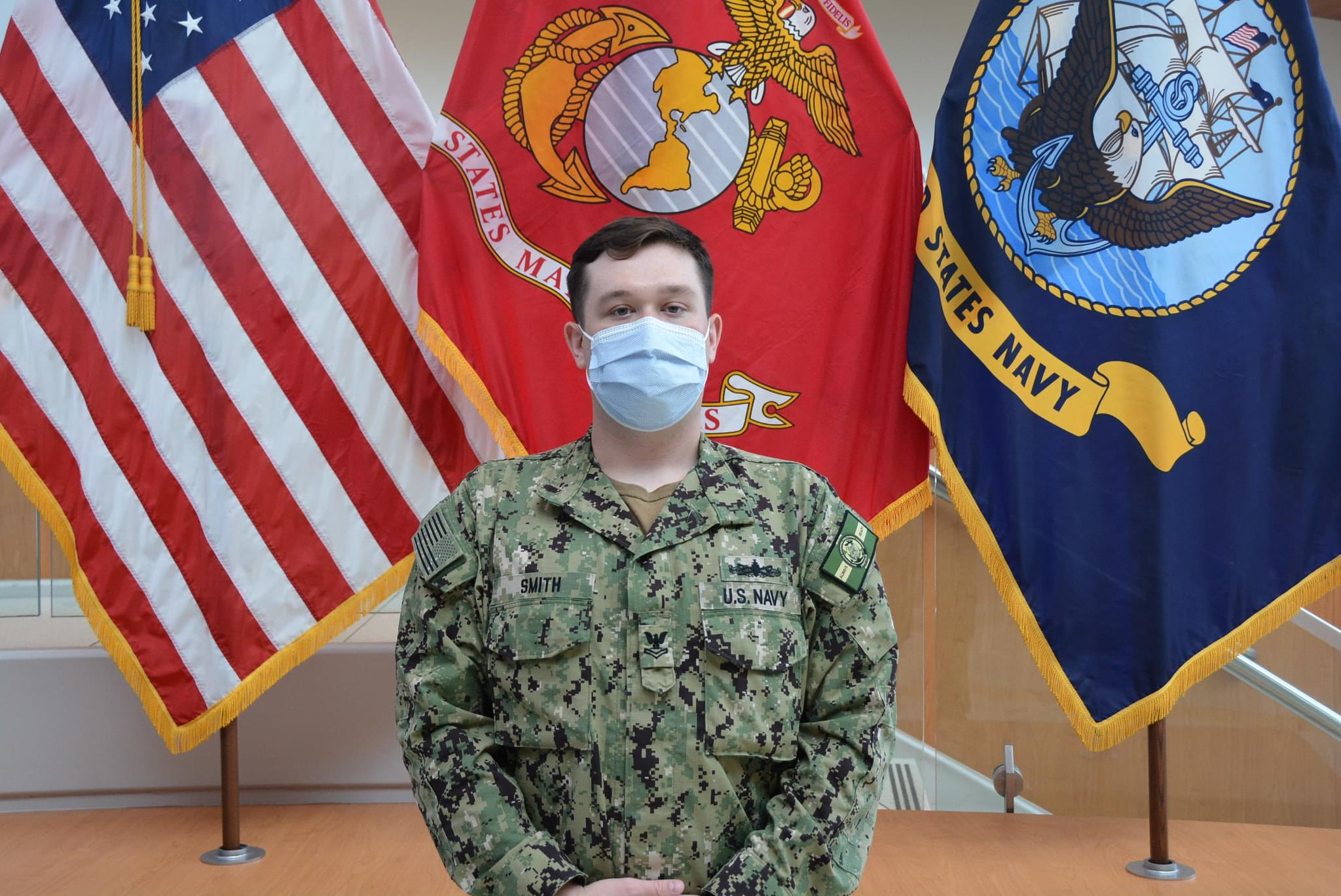 Newport News Native supports Hospital Corps on front lines of U.S. Navy Coronavirus fight
