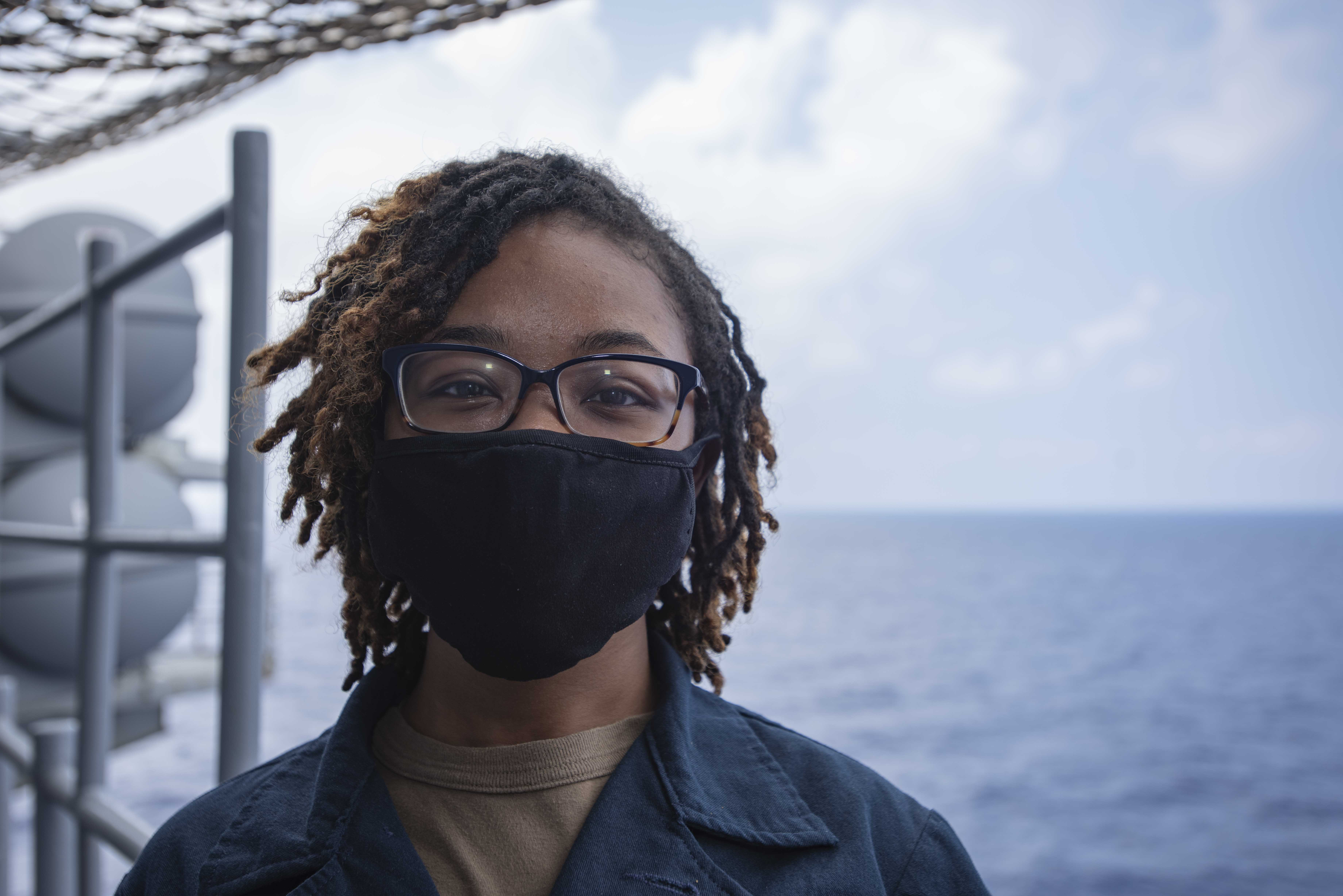 Newport News Native Serves aboard USS Ronald Reagan in the Indo-Pacific Region