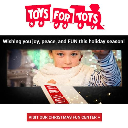 Visit Toys For Tots Virtual Christmas Fun Center
