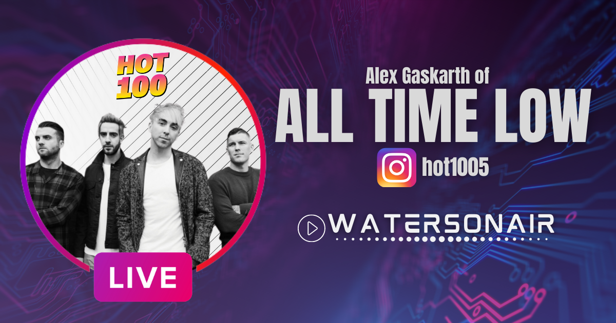 All Time Low's Alex Gaskarth Talks Virtual Concerts, Wine, and Bands on the Pop Charts!