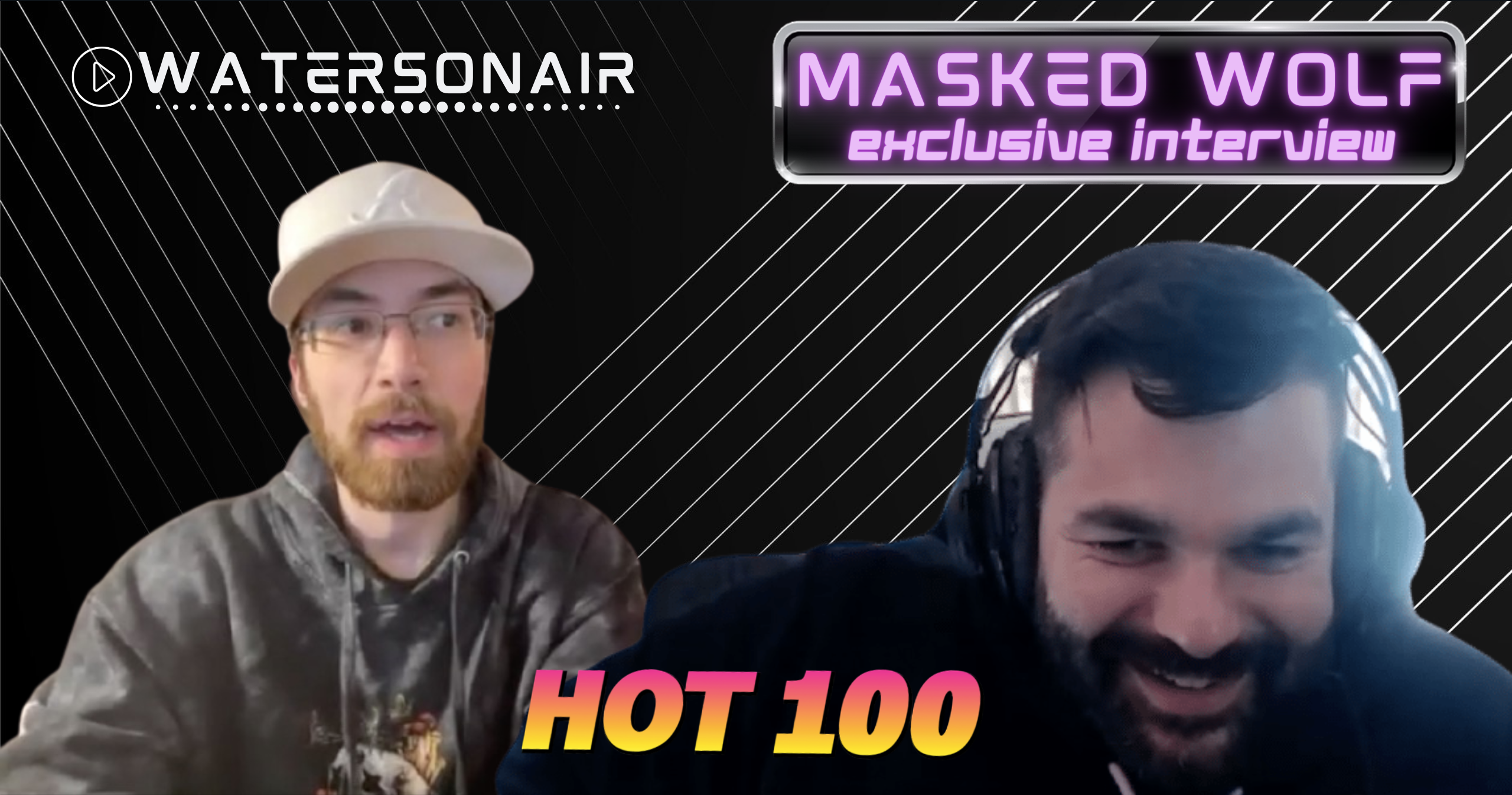 Hot 100 Exclusive: MASKED WOLF Talks Viral Hit 'Astronaut in the Ocean' and Mental Health