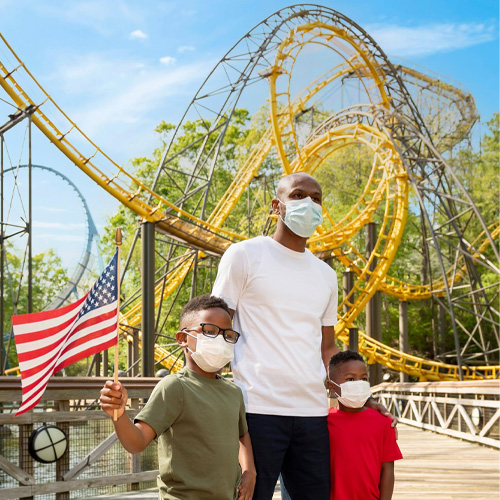 Busch Gardens offering free admission to U.S. military members, veterans, and their families