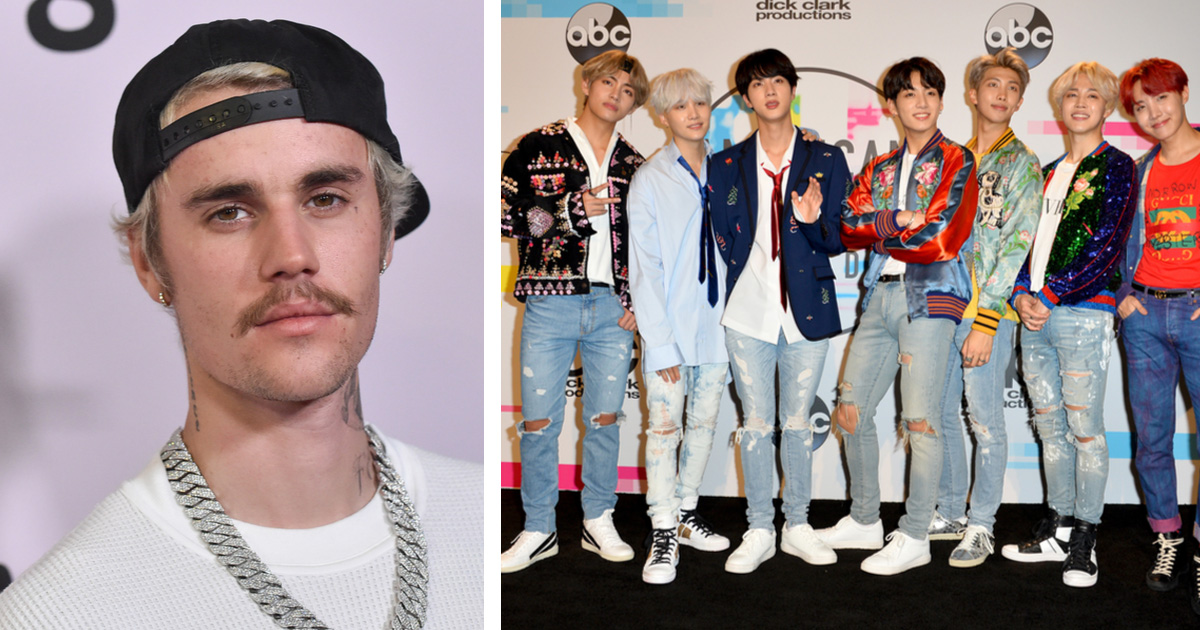 Justin Bieber And BTS Are Reportedly Working on a Collaboration