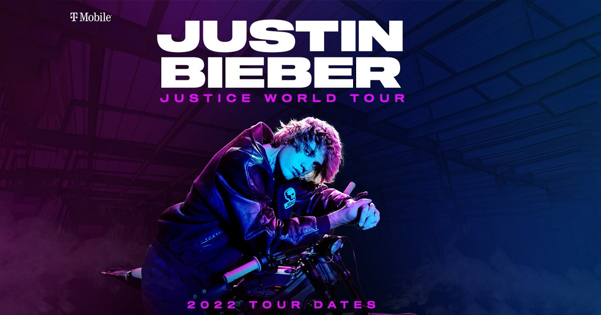 Justin Bieber Announces Rescheduled Justice World Tour Dates and Adds New Dates