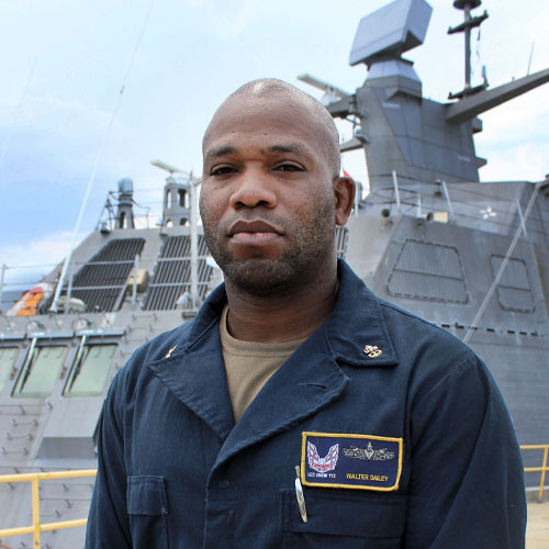 Virginia Beach Native Serves Aboard One of the Navy's Most Versatile Combat Ships