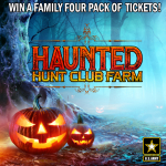 Win a Four Pack of Tickets to Hunt Club Farm