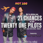 21 Chances to see Twenty One Pilots