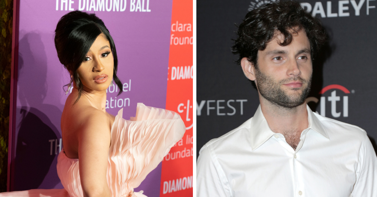 Cardi B And Penn Badgley Have Cute Fangirl Moment On Twitter