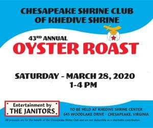 Oyster Roast 300