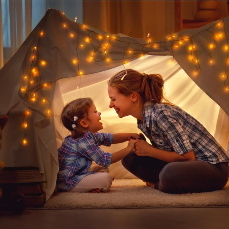 indoor play tent