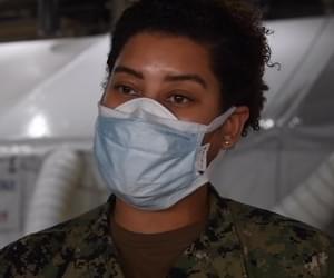 Hampton Sailor on USS Comfort