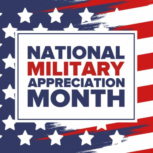 2020 Military Appreciation Month Discounts