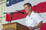 """Norfolk Sailor successfully completes tour with the """"Bluetails"""""""