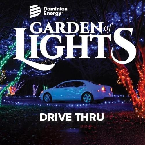 Garden of Lights: Norfolk Botanical Gardens