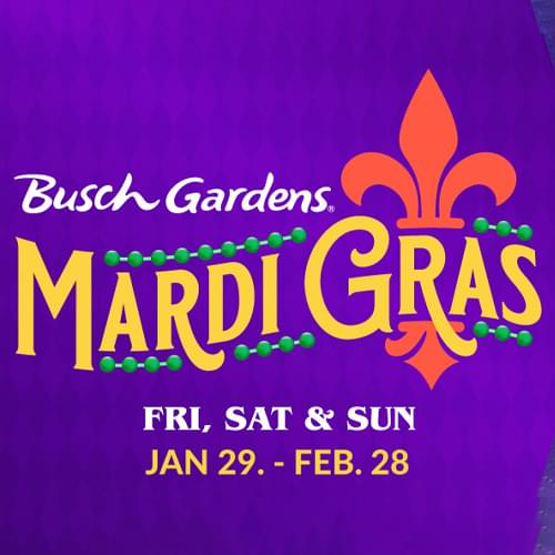 Busch Gardens Mardi Gras